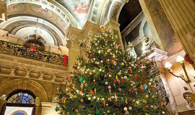 Castle Howard at Christmas with Scarborough and York